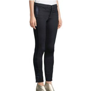 Veronica Beard Brooke Skinny Jeans Tuxedo Strip 27